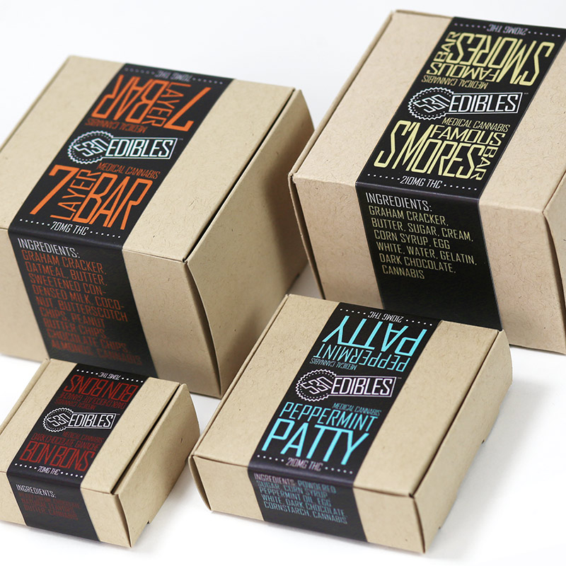 Edibles branding & packaging development