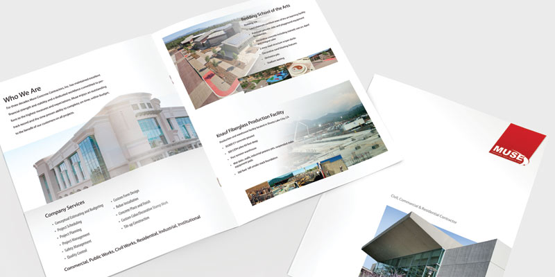 Brochure Booklet Design & Print